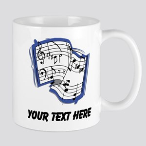 Sheet Music (Custom) Mugs